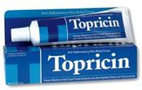 Topricin® Cream, 2.0 oz tube (Topical BioMedics, Inc)