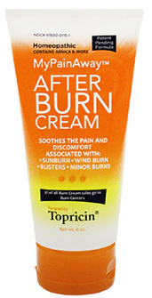 Topricin® After Burn Cream, 6 oz  (Topical BioMedics, Inc)