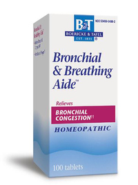 Bronchial & Breathing Aide™ (formerly Bronchitis & Asthma Aide), 100 tablets (Boericke & Tafel)
