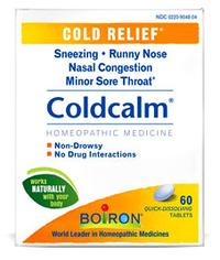 Cold Calm, 60 tablets (Boiron)