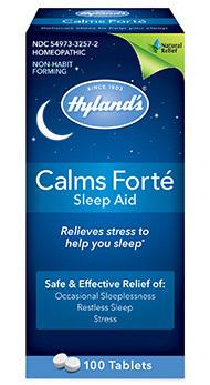Calms Forte Sleep Aid, 100 tablets (Hyland's)
