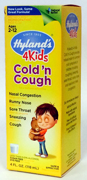 Cold N Cough 4 Kids, 4 fl oz / 118 ml (Hyland's)