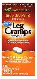 Leg Cramps, 100 tablets  (Hyland's)