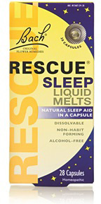 Bach Rescue® Sleep Liquid Melts, 28 capsules