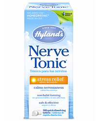 Nerve Tonic, 500 quick-dissolving tablets (Hyland's)