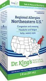 Regional Allergies: Northeastern U.S. 2 fl oz (King Bio)