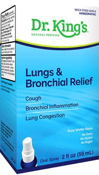 Dr. King's Lung & Bronchial Relief, 2 fl oz / 59mL (King Bio)
