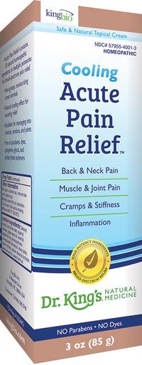 Dr. King's Acute Pain Relief Cream, 3 oz (King Bio)