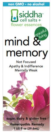 Mind & Memory, 1 fl oz (Siddha)
