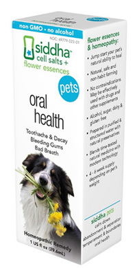 Pets Oral Health, 1 fl oz (Siddha)