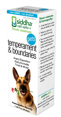 Pets Temperament & Boundaries, 1 fl oz (Siddha)