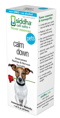 Pets Calm Down, 1 fl oz (Siddha)