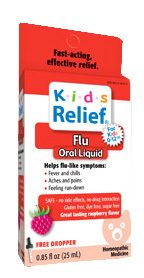 Kids Relief® Flu Oral Liquid, 0.85 fl oz (Homeolab USA)