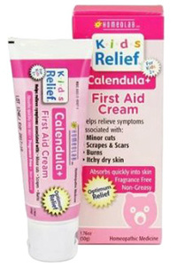 Kids Relief® Calendula Plus First Aid Cream 1.76 oz (Homeolab USA)