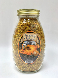 Bee Pollen Granules, 8 oz (Fruitwood Orchards)