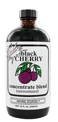 Black Cherry Concentrate, 16 fl oz /480 ml (Natural Sources)