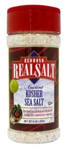 Sea Salt - Kosher, Gourmet 8 oz / 227g (Redmond Trading Co.)
