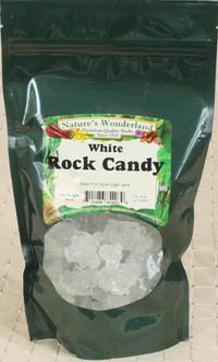 Rock Candy, White, 16 Oz