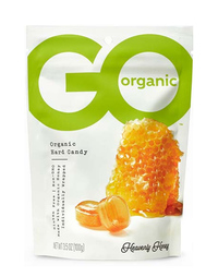 Go Organic Hard Candy - Heavenly Honey, 3.5 oz / 100g