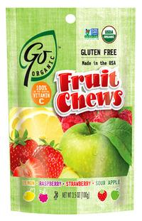 GoOrganic Fruit Chews, 3.5 oz / 100g
