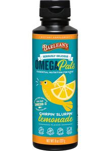 Omega Pals Fish Oil - Lemonade, 8 oz (Barleans)