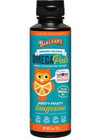 Omega Pals Fish Oil + Eye Nutrition, 8 oz (Barleans)