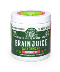 Brain Juice Nutrient Drink Mix - Watermelon 2.2oz/61.5g