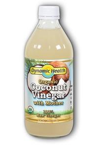 Coconut Vinegar, Organic, 16 fl oz / 473 ml (Dynamic Health)