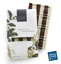 Green Tea & Roasted Rice Chocolate, 2.2 oz / 60g (Eclat Chocolate)