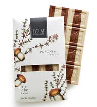 Porcini & Thyme Chocolate, 2.2 oz / 60 g (Eclat Chocolate)