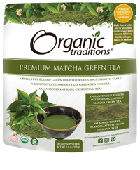 Premium Matcha Tea, Organic 3.5 oz (Organic Traditions)