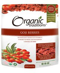 Goji Berries, Organic 8 oz (Organic Traditions)