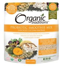 Probiotic Smoothie Mix - Lucuma Baobab, 7 oz (Organic Traditions)