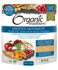 Probiotic Fiber Blend with Turmeric, 7 oz (Organic Traditions)