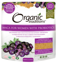 Maca for Women with Probiotics, Organic 5.3 oz (Organic Traditions)