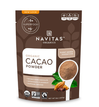 Cacao Powder, Organic 8 oz (Navitas Organics)
