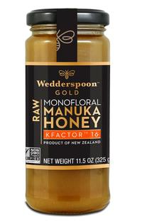 Raw Manuka Honey - K Factor, 11.5 oz / 325g (Wedderspoon)