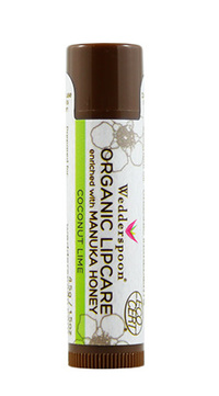 Organic Manuka Honey Lip Balm - Coconut Lime, 1.5 oz (Wedderspoon)