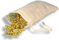 Muslin Cloth Tea Bags, 6 bags (Size: 3 x 5)