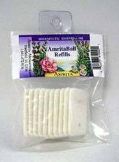Amrita Ball Refill Pads, pack of 10 felt pads (Amrita Aromatherapy)