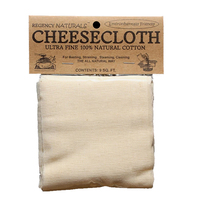 Cheesecloth, Ultra Fine, 9 Square Feet (Regency Naturals)