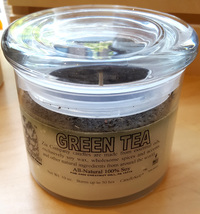 Green Tea Soy Candle, 10 oz (Zia Company)