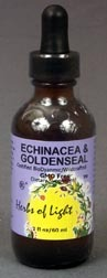 CLEARANCE: Echinacea - Golden Seal, 2 fl oz (Herbs Of Light)