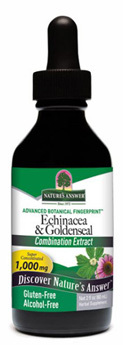 Echinacea Goldenseal Extract - Alcohol Free, 2 fl oz (Nature's Answer)
