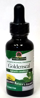 Goldenseal Root Extract - Alcohol Free 1 fl oz (Nature's Answer)