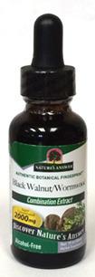 Black Walnut and Wormwood, 1 fl oz (Nature's Answer)