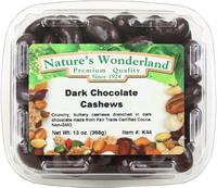 Dark Chocolate Cashews, 13 oz (Nature's Wonderland)