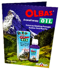 Olbas Oil Sample In Brochure Card<BR>(Pack of 50)