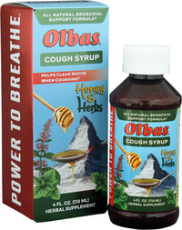 Olbas Cough Syrup – 4 Fl. Oz. – Penn Herb