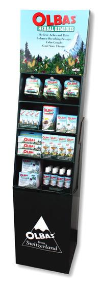 Olbas Floor Display, 8 products
